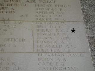 Flt Sgt R C J Berry 7th April 1944