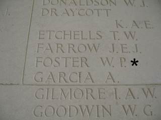 Flt Sgt W P Foster 4th October 1944