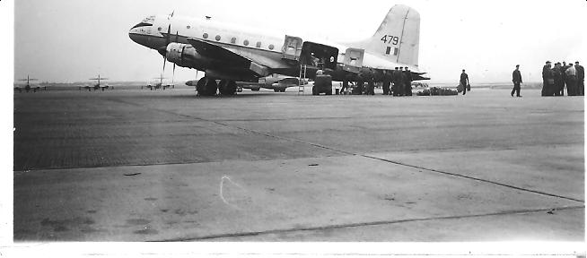 Groundcrew_transport_to_Germany_1955_-_a_Hastings