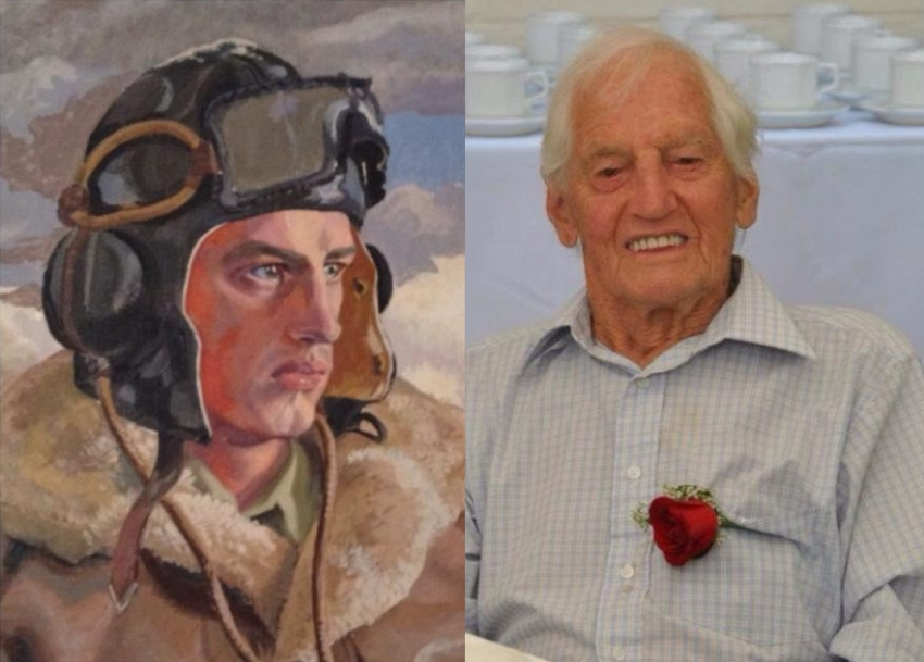 Major Harry Hoffe DFC (RIP) 24.05.14