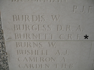 SGT C R F Burnett 13th October 1944